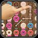 Donut Swipe Match Three Puzzle by Wayne Hagerty
