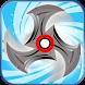 Fidget Shuriken Spinner by BrainPuzzle