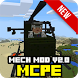 MECH mod v2.0 NEW for MCPE by Go Play Studio