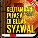 Keutamaan Puasa Syawal by Nyi Subang Larang