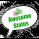 Awesome Status by Jenuqie Desoza