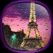 Rainy Paris Live Wallpaper by Phoenix Live Wallpapers