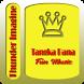 Thunder Imagine Dragons by Tangka Bana