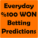Betting Tips %100 WON by Onkom Tech