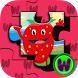 Fruit Jigsaw for Toddlers by Wooland Games