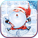 Christmas Snow Angel Keyboard Themes by Sweet Princess Games
