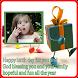 Birthday Photo Frame Greetings by Pretz dev