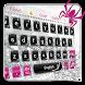 Silver Spider Keyboard Theme by Dream Keyboard Creator