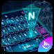 Hologram Neon Keyboard Theme by Emoji Free Themes