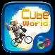 Cube World GO Launcher Theme