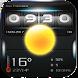 Analog Clock & Weather Widget by Weather Widget Theme Dev Team