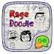 (FREE) GO SMS RAGE DOODLE THEME by ZT.art