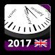2017 UK Labor Calendar by Rhappsody Technologies