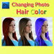 Changing Photo Hair Colour by Zintearmedia