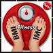 FITNESS BMI BMR FAT CALCULATOR by TOUIL Mohammed