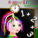 Rainbow Girl at Math Class by if else factory