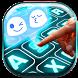 Emoji Neon Keyboard Themes by Weird Funny Apps