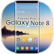 Theme for Galaxy Note 8 by The Best Android Themes