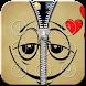 Smiley Emoji Zipper Lock by shree maruti plastic
