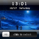 Slide To Unlock - Moon Locker by Stephen.Zz