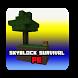 SkyBlocks MCPE mod tutorial by warior1000k