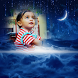 Night Photo Frame by bubbles app