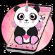 Panda Unicorn Galaxy Anime by free cool launcher theme