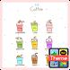 커피ICE 카톡 테마 by iConnect