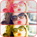 Beauty Camera Selfies Collage by Pinkbird Studio