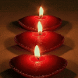 Red Candles Live Wallpaper by Daksh Apps