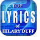 Top Lyrics of Hilary Duff by Project LR