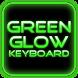 Green Glow Keyboard Skin by Mariux