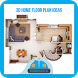 3D Home Floor Plan Ideas by bombomcar