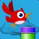 Happy Flying Birds by Duna