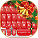 Red Christmas Keyboard Theme by Fashion theme for Android-2018 keyboard