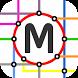 Budapest Rail & Tram Map by MetroMap