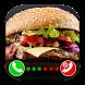 Burger fake call