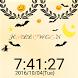 ハロウィン パーティー 飾り風 イメージ 卓上時計 by 時計アプリ Watches Free