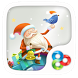 Christmas GO Launcher Theme by ZT.art