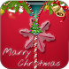 Merry Christmas Zipper Lock by lifestyleapps