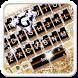 Gold Shining Diamond Keyboard Theme by 7star princess
