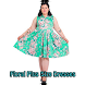 Floral Plus-size Dresses by Colliyoyo