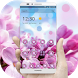 Pink Flowers & Blue Sky Theme by Theme Lovely