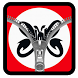 Slank Zipper Lock