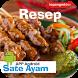 Resep Sate Ayam Lengkap Enak by Topangmt