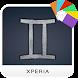 Gemini Zodiac Xperia Theme by Toshx