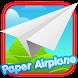 Paper Airplane - Glider Tap by GamePlayStudio.net