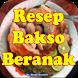 Cara membuat bakso beranak spesial by Bushracreative