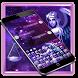 Purple Libra Warrior Mythology Keyboard Theme by Brandon Buchner