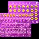 Glitter Pearl Keyboard Theme by Color Emoji Keyboard Studio